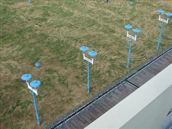 造型路燈(在新竹17公里海岸線經常可以看到?)