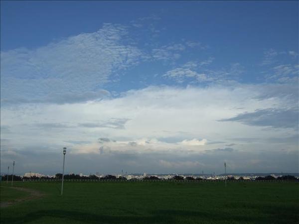 今天的雲真的很特別