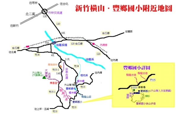 豐鄉國小附近地圖