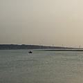 海山漁港---很多台電的風車