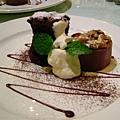 甜點-巧克力雙塔