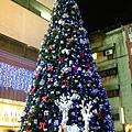SOGO外頭的聖誕樹
