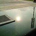 水中的太陽
