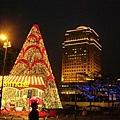 今年新光廣場的耶誕樹