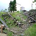 921受損的鐵道遺跡