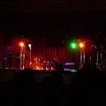 開唱前舞台