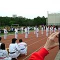 清交跆拳道表演