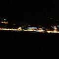 搭船時岸邊的夜景