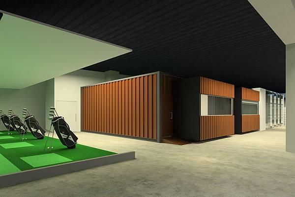 高爾夫球區