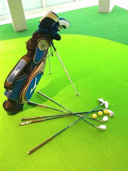 藍色高爾夫球具組2