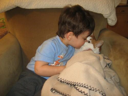 溫柔巨貓,男嬰