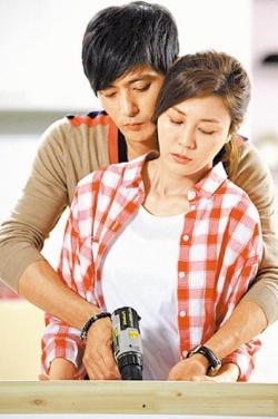 張東健在韓劇《紳士的品格》與金荷娜談情