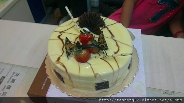 蛋糕好好吃!