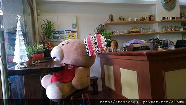 熊熊的專屬座位