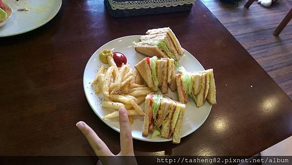我的總匯三明治