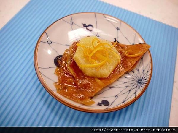 香橙醬法式煎薄餅