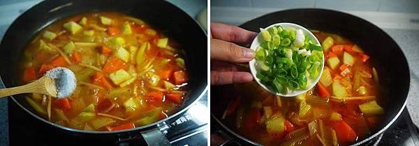 佛手瓜蔬菜蕃茄湯