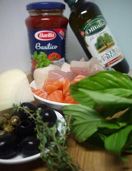 拿坡里蕃茄海鮮