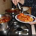 番茄醬牛肉捲蝴蝶麵1