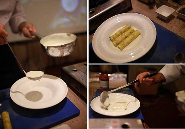 瑞可塔起司波菜義大利麵捲