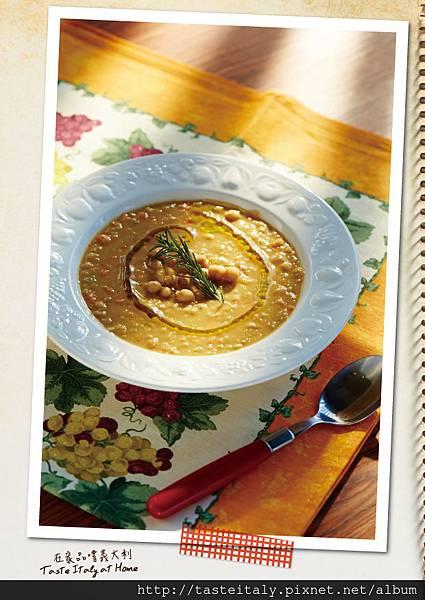 鷹嘴豆蔬菜濃湯
