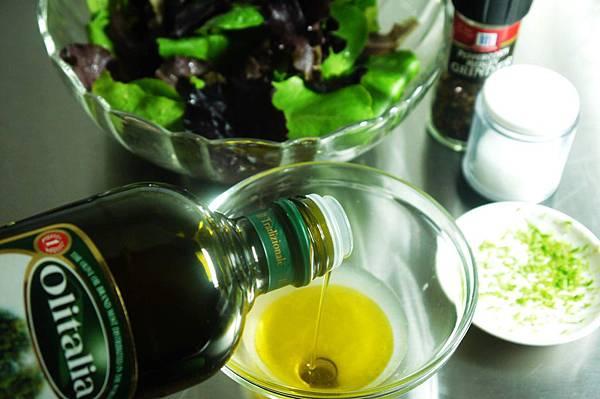 檸檬油醋生菜沙拉