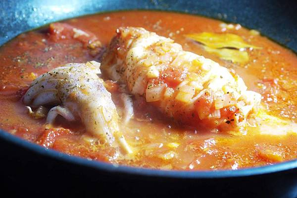【Bambino海鮮篇】鮮甜美味的「透抽蕃茄燒」