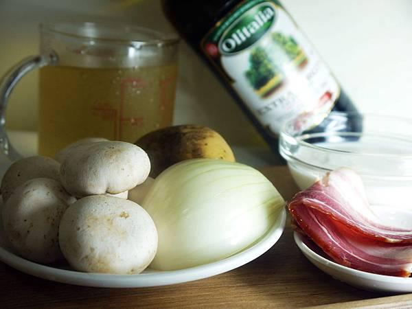 【Bambino湯品篇】暖暖幸福感的「培根蘑菇濃湯」