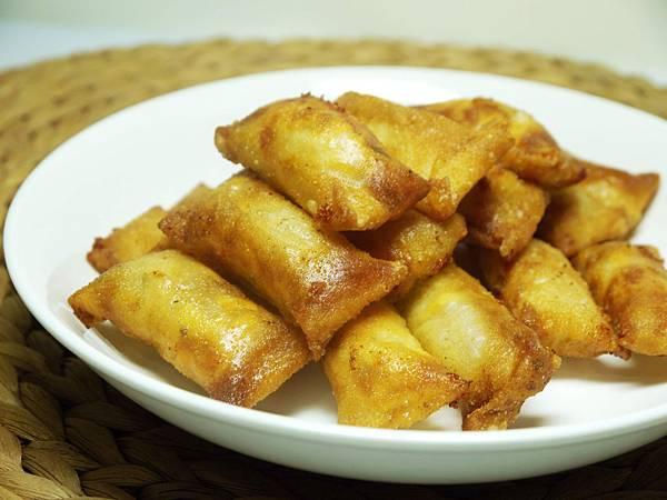 【Bambino鹹點篇】「酥炸蘑菇雞肉卷」香酥脆