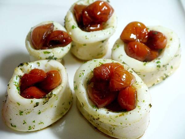 【Bambino海鮮篇】鮮酸甜滋味「烤花枝佐香草」