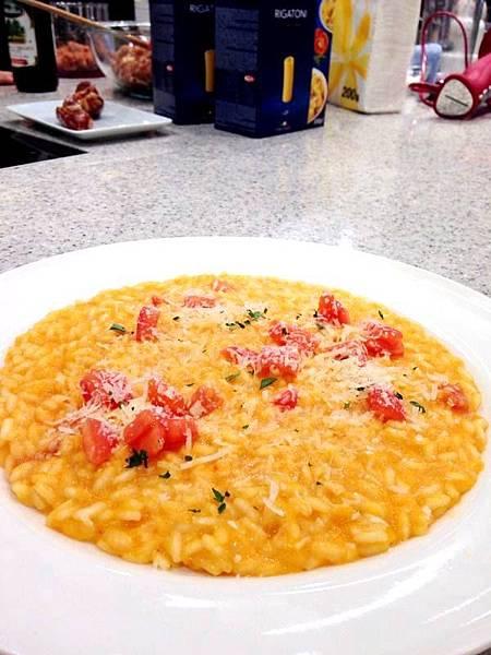  番茄燉飯
