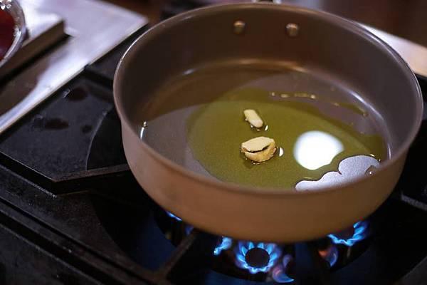 落合  務主廚-青醬海鮮細扁麵