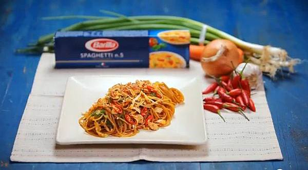 Spaghetti Nasi Goreng