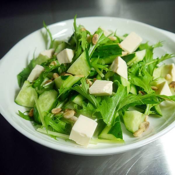 【Bambino沙拉篇】綠油油好健康「乳酪黃瓜油醋醬沙拉」~