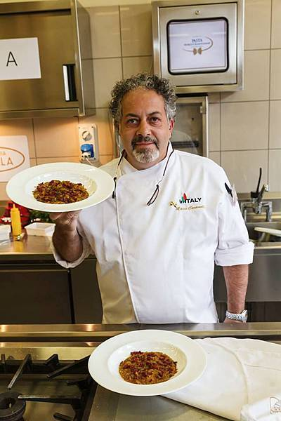 Chef Mario Caramella
