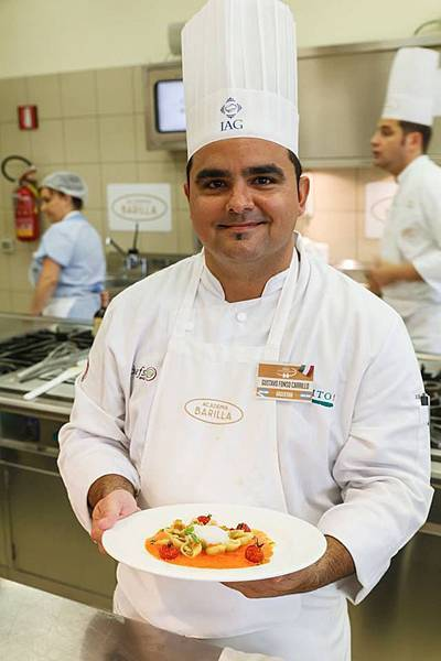 Chef Gustavo Fonso Carrillo
