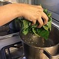 地瓜葉義大利湯麵