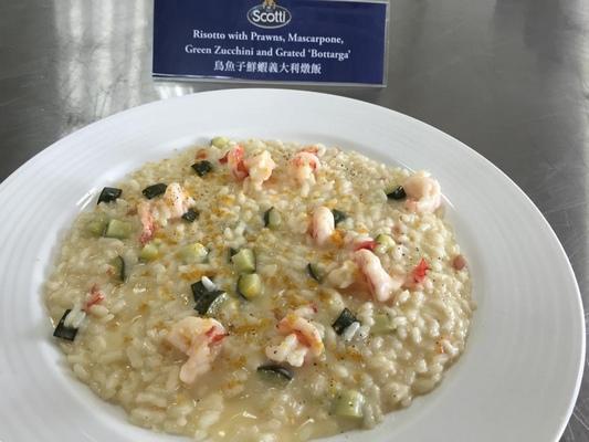 【義大利主廚食譜】鳥魚子鮮蝦義大利燉飯