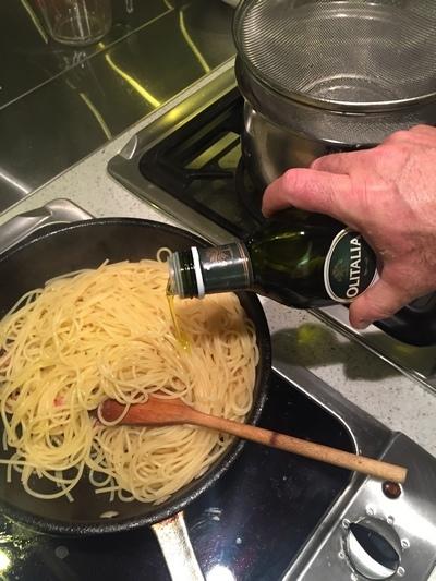 起司培根義大利麵