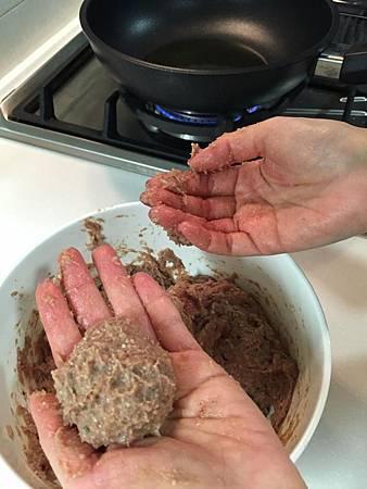 迷迭香牛肉丸