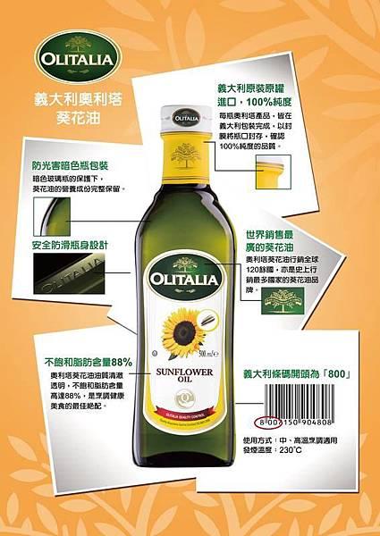 葵花油產品標示
