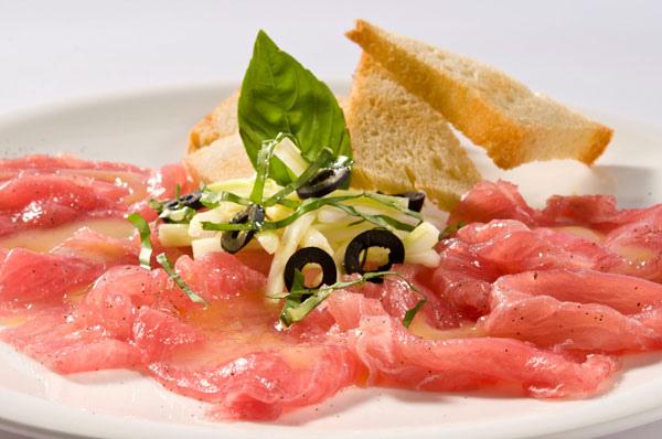 西西里鮪魚生魚片
