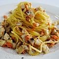 Seafood Carbonara 鮮魚起司義大利麵