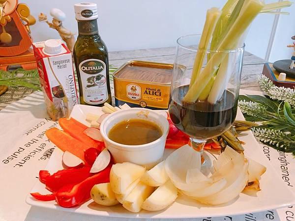 香蒜鯷魚熱沾醬Bagna Càuda