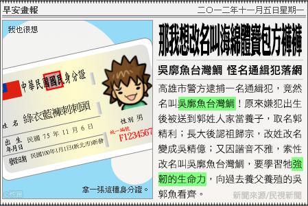 新聞畫報20121105