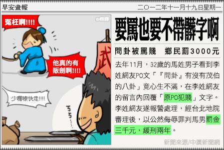新聞畫報20121119