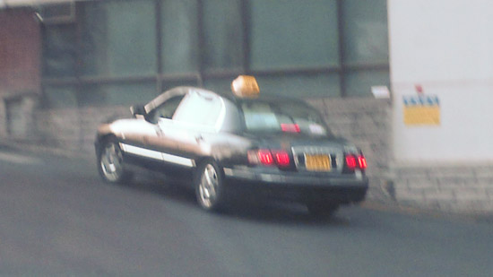 黑色計程車