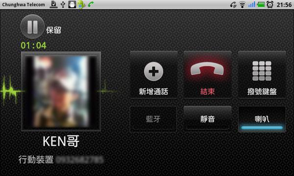 電話-通話中