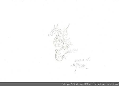 張小姐<龍圖騰>設計稿.