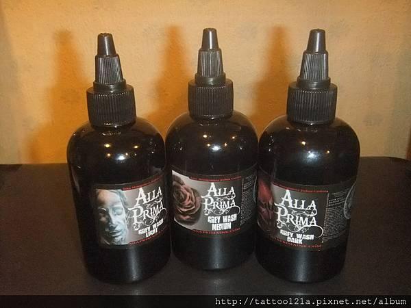 Alia Prima進口套裝灰階顏料.